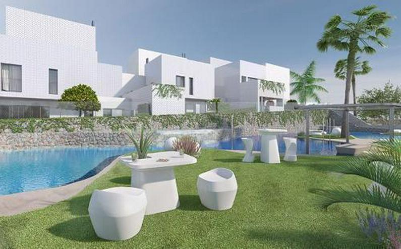 Bild 4: 3-Zimmer-Reihenhäuser in minimalistischem Design ca. 7 km vom Strand