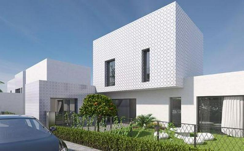 Bild 6: 4-Zimmer-Reihenhäuser in minimalistischem Design ca. 7 km vom Strand