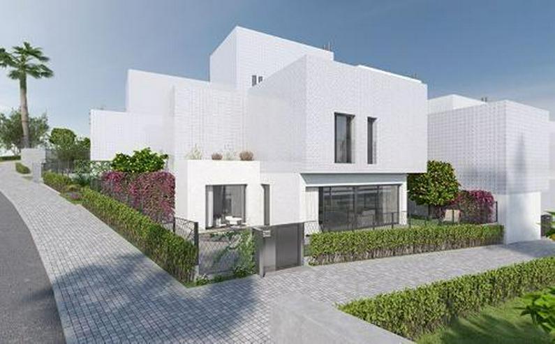 Bild 2: 4-Zimmer-Reihenhäuser in minimalistischem Design ca. 7 km vom Strand