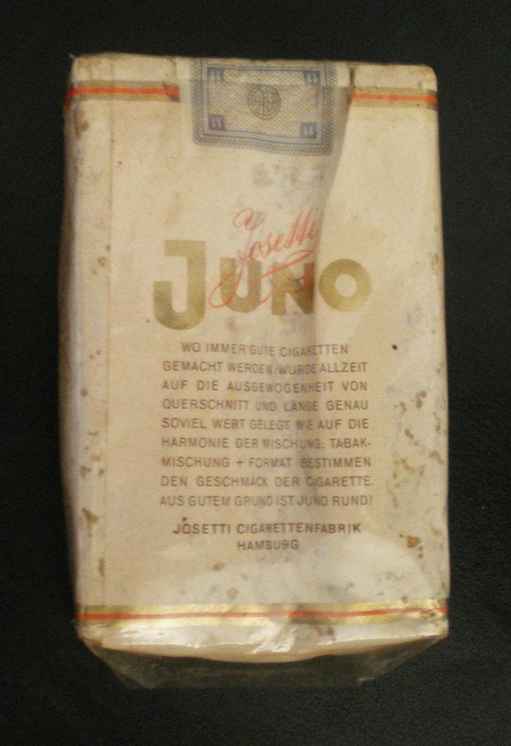 Bild 2: Schachtel Original Juno Sammelobjekt (FP)