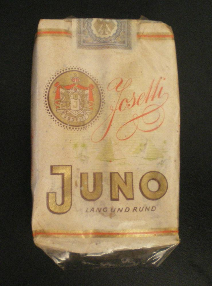 Bild 3: Schachtel Original Juno Sammelobjekt (FP)