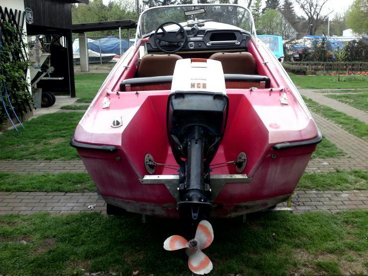Motorboot Merlin 460x170 mit Außenborder 55 PS