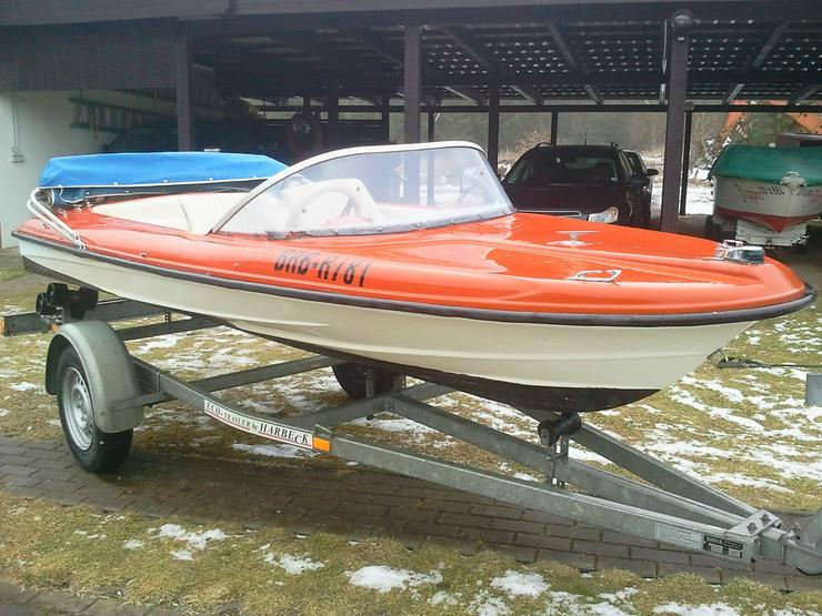 Motorboot Hille 370x160cm Sportboot Angelboot