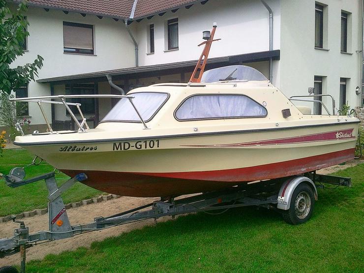 Kajütboot Shetland 535x210cm Motorboot Kajüte