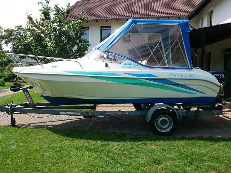 Bild 4: Kajütboot Olympia 560x210cm Motorboot Kajüte
