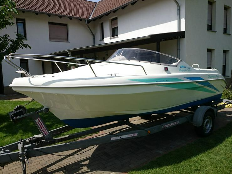 Kajütboot Olympia 560x210cm Motorboot Kajüte
