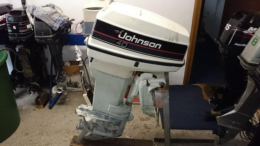 Außenbordmotor Johnson 40 PS 2-Takt Außenborder