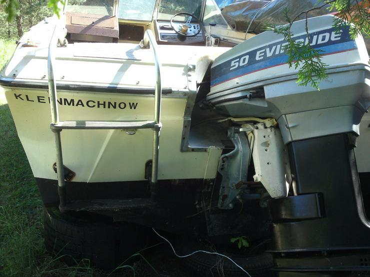 Bild 2: Außenbordmotor Evinrude 50 PS 2-Takt Langschaft