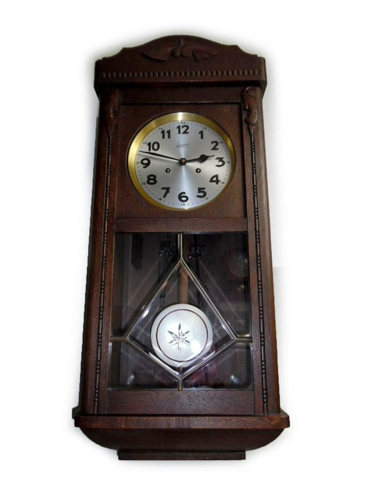 Große Wanduhr von Suevia - 30er Jahre - Uhren - Bild 1