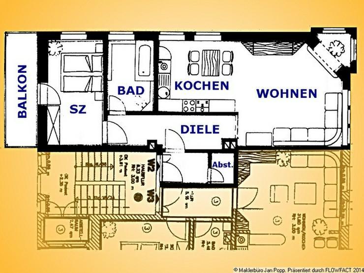 Zweiraumwohnung mit Balkon in Greizer Randlage - Wohnung mieten - Bild 1