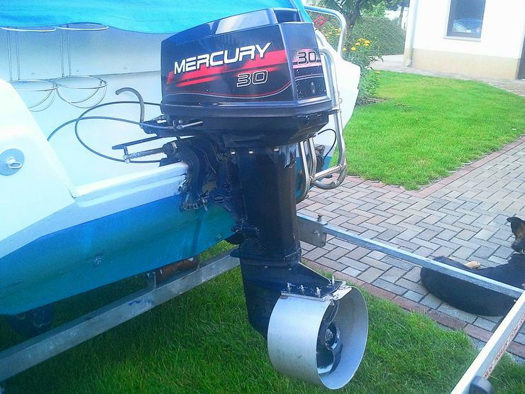 Außenbordmotor Mercury 30 PS 2-Takt E-Start - Außenborder & Innenbordmotoren - Bild 1