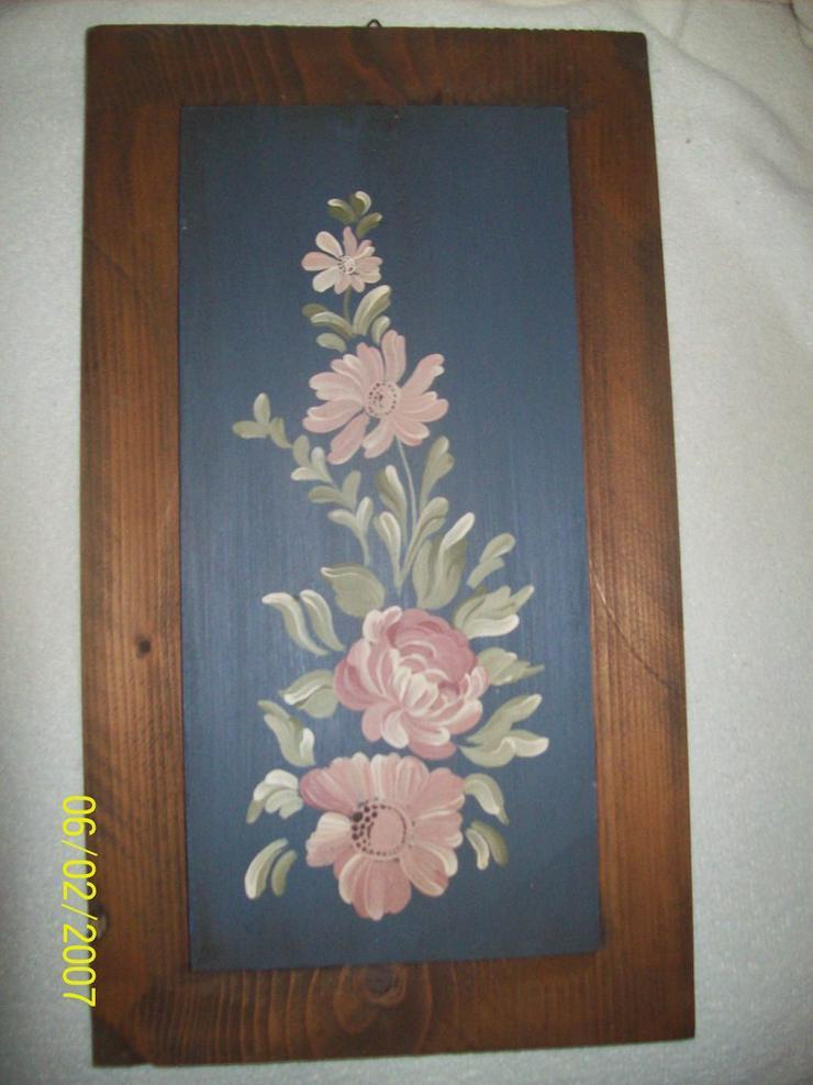 Handgemaltes Motiv Bauernmalerei