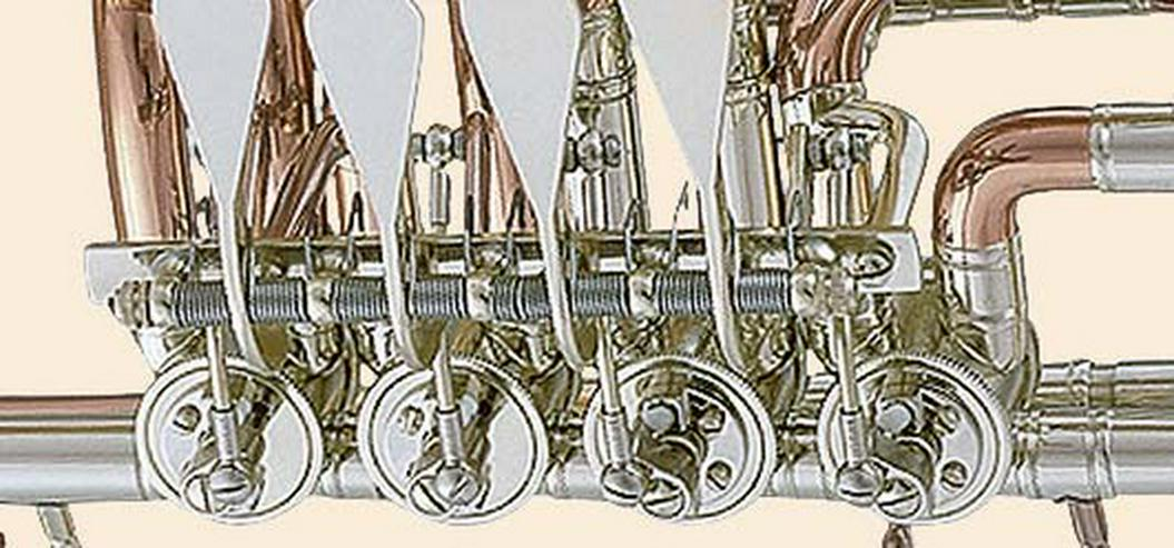 Bild 4: Cerveny Tenorhorn Goldmessing, Mod. 721-3 RX