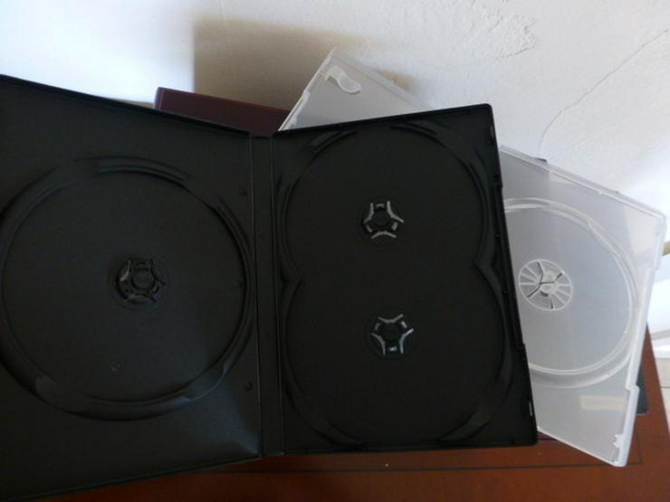 Bild 2: Schnäppchenpreis CD- / DVD-Kasetten wie neu