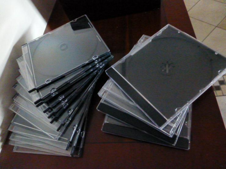 Bild 2: CD- / DVD-Kasetten wie neu