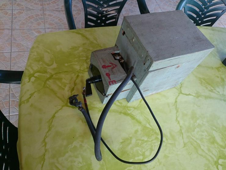 Batteriekasten mit Hauptschalter für Boote
