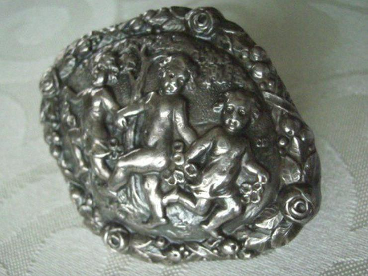 Bild 4: antike Silberbrosche, ca. 1850-1900, 800er Ag