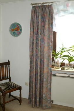 gardinen schals krauselband gebraucht kaufen nur 3 st. Black Bedroom Furniture Sets. Home Design Ideas
