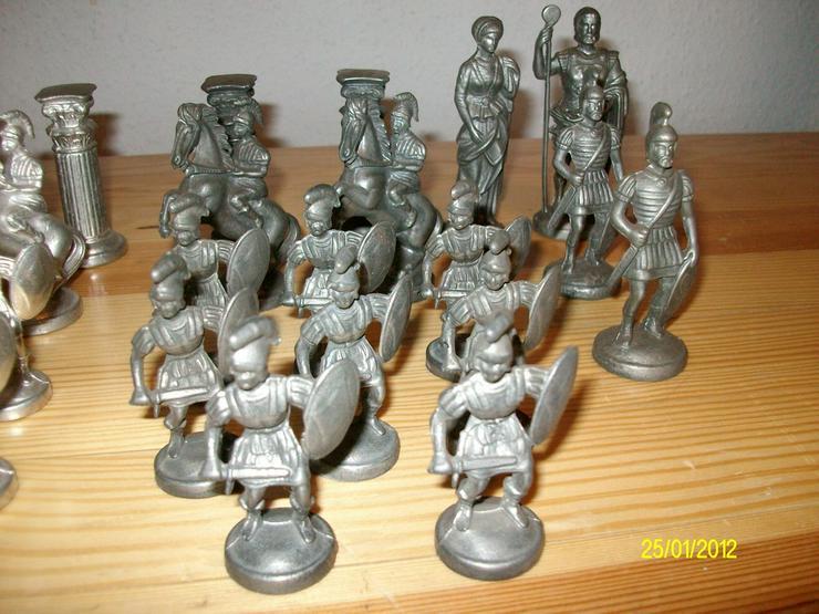 Schachfiguren aus Zinn     ohne Brett - Brettspiele & Kartenspiele - Bild 5