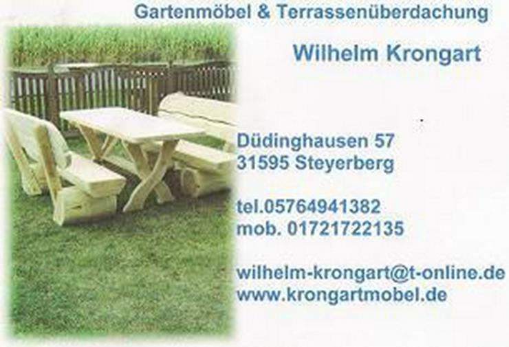 Bild 3: Terassen Garnitur, Garten Möbel