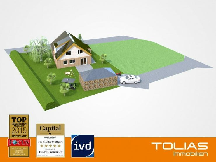 Bodenschatz - Baugrundstück in ruhiger und naturnaher Lage für Einfamilienhaus oder Dopp... - Grundstück kaufen - Bild 1