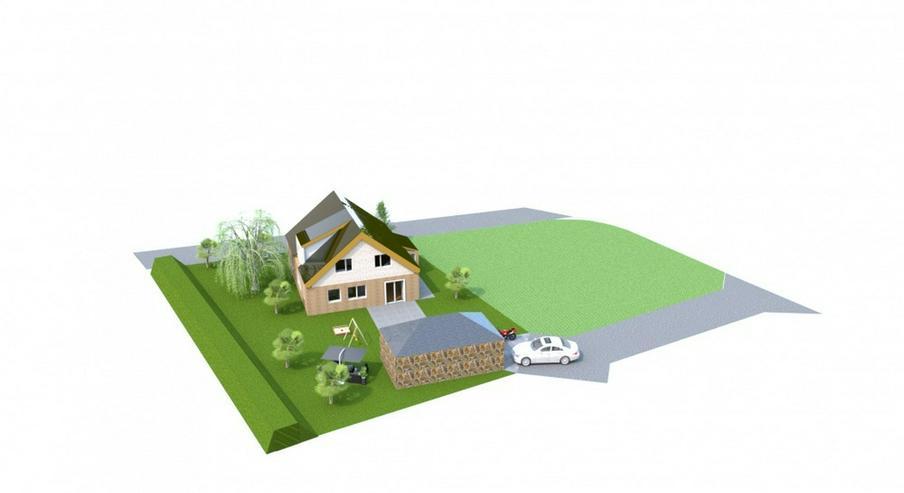 Bild 4: Bodenschatz - Baugrundstück in ruhiger und naturnaher Lage für Einfamilienhaus oder Dopp...