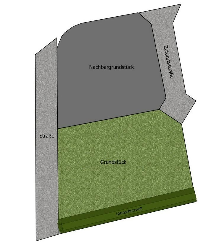 Bild 2: Bodenschatz - Baugrundstück in ruhiger und naturnaher Lage für Einfamilienhaus oder Dopp...