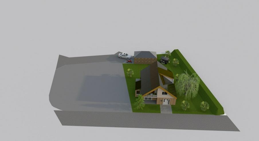 Bild 3: Bodenschatz - Baugrundstück in ruhiger und naturnaher Lage für Einfamilienhaus oder Dopp...