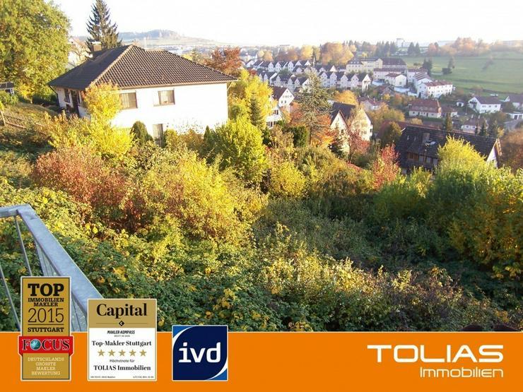 Zentrumsnah mit Fernsicht - 1-4 Familienhaus möglich, Baugrundstück in sonniger und expo... - Grundstück kaufen - Bild 1