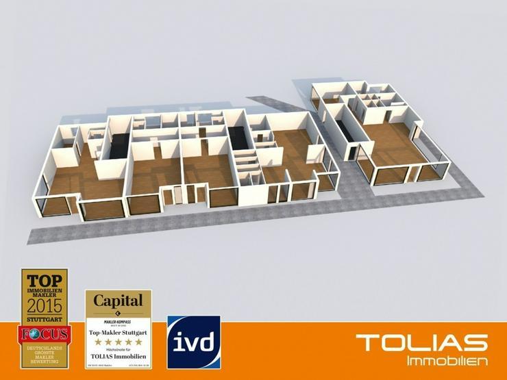 4 Gaststätten, 1 Ladengeschäft und 6 TG-Stellplätze in zentraler Lage, gut vermietet, n... - Gewerbeimmobilie kaufen - Bild 1