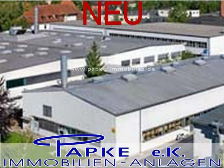 Bild 2: *** Produktions - und Lagerflächen - Hallen ***