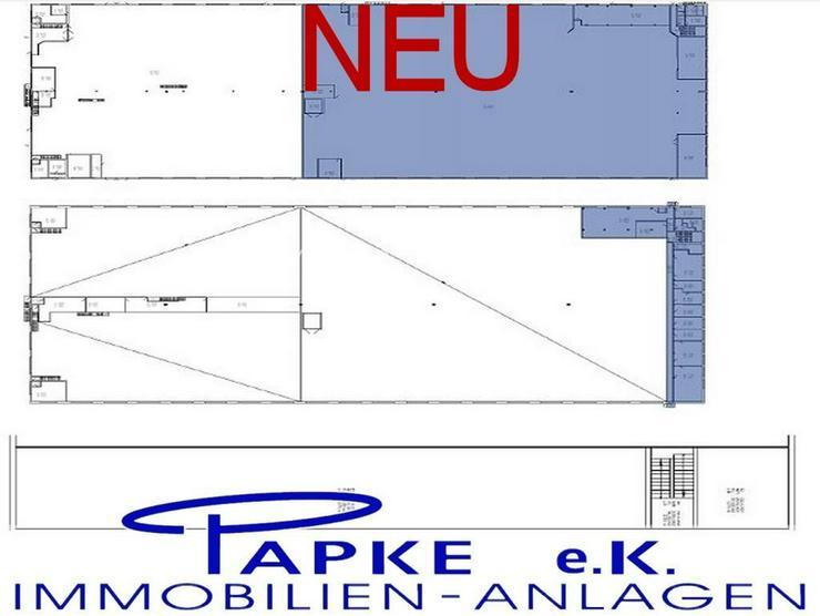 Bild 3: *** Produktions - und Lagerflächen - Hallen ***