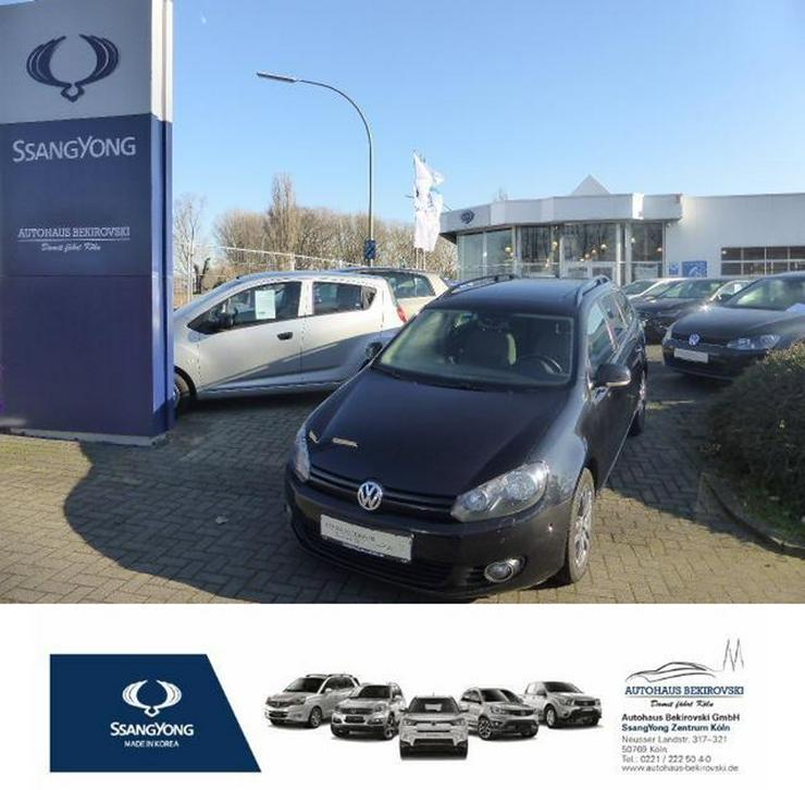 VW Golf VI Variant 1.6 TDI DPF BMT DSG Trendline*Navi*Pano*PDC V+H