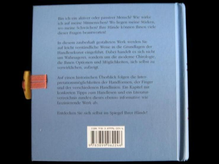 Bild 4: Handlesen - Schlüssel zu Schicksal + Charakter