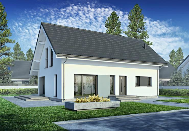 Bild 2: Fertighaus Eigenheim mit Erker bezugsfertig
