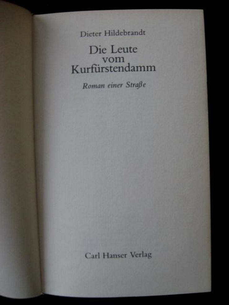 D. Hildebrandt - Die Leute Vom Kurfürstendamm