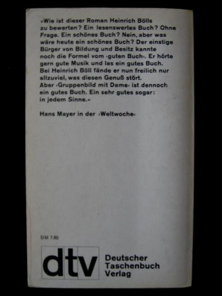 Bild 2: Heinrich Böll - Gruppenbild Mit Dame