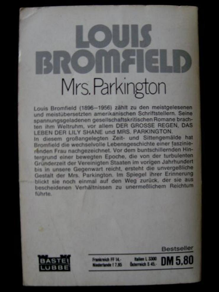 Bild 2: Louis Bromfield - Mrs. Parkington