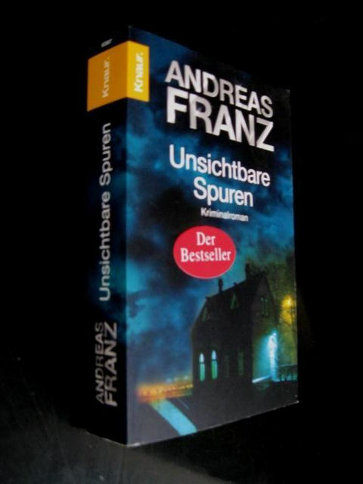 Bild 2: Andreas Franz - Unsichtbare Spuren