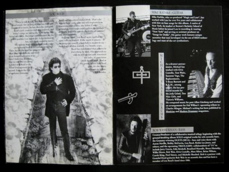 Bild 4: Lou Reed - Magic And Loss - Tour 1992