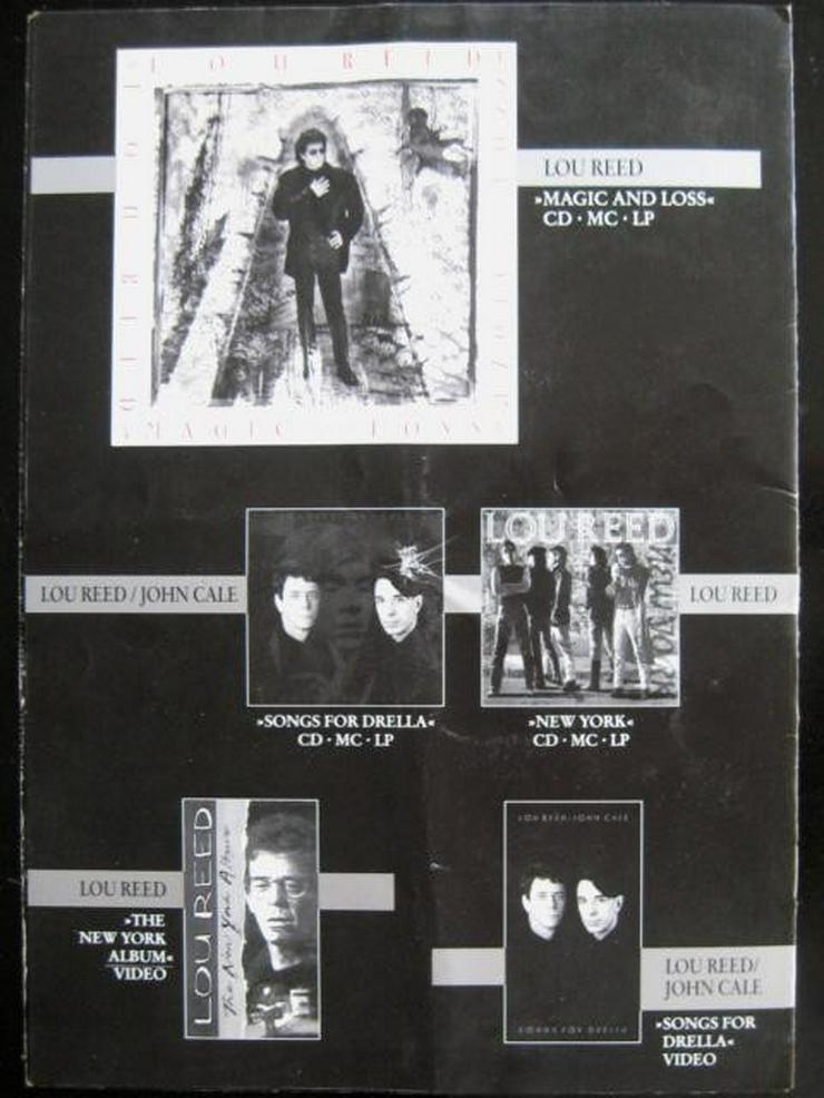 Bild 5: Lou Reed - Magic And Loss - Tour 1992