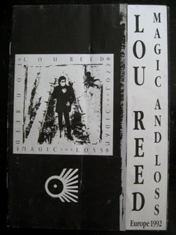 Lou Reed Magic And Loss Tour