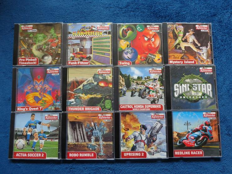 Komplette Computerbildspiele CD Sammlung 2000