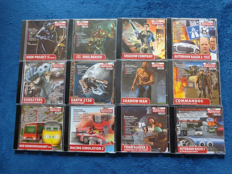 Komplette Computerbildspiele CD Sammlung 2002