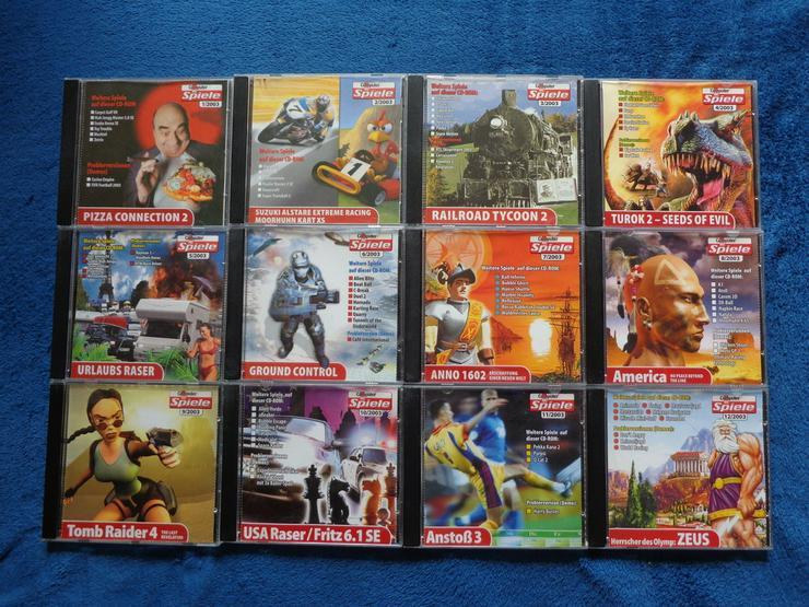 Komplette Computerbildspiele CD Sammlung 2003