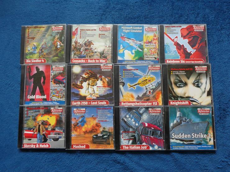 Komplette Computerbildspiele CD Sammlung 2005