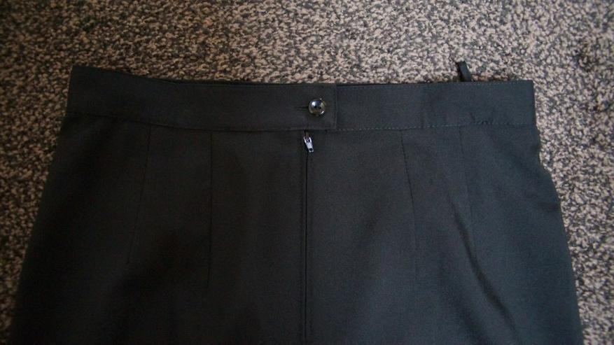 Bild 5: Bleistiftrock m. Stick, Gr. 42, schwarz, neu