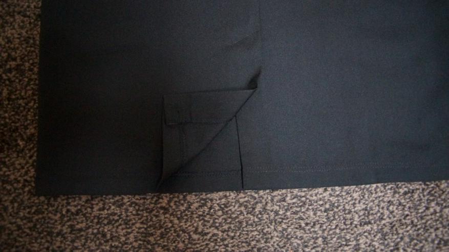 Bild 6: Bleistiftrock m. Stick, Gr. 42, schwarz, neu