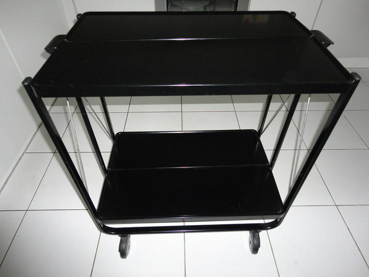 Bild 2: LEIFHEIT Side-Car Servierwagen Metall schwarz