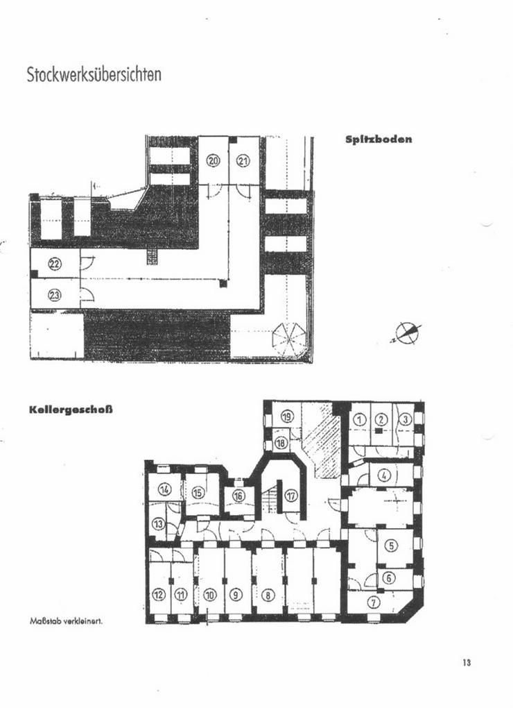 Bild 3: EIGENNUTZUNG in Chemnitz - eine 2 Zimmerwohnung in einem herrschaftlichen Stadthaus